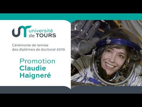 Cérémonie de remise des diplômes de doctorat 2019 Promotion Claudie Haigneré