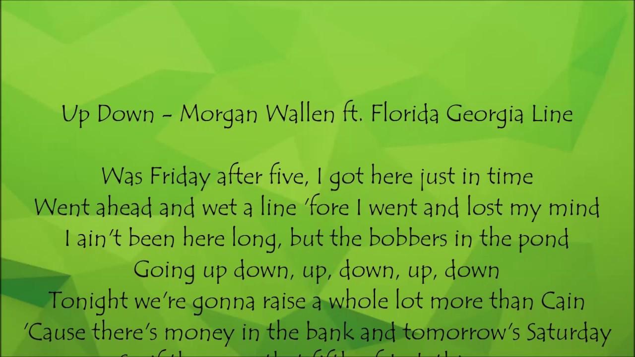 Florida Georgia Line Songs Lyrics Up Down Wiring Diagrams
