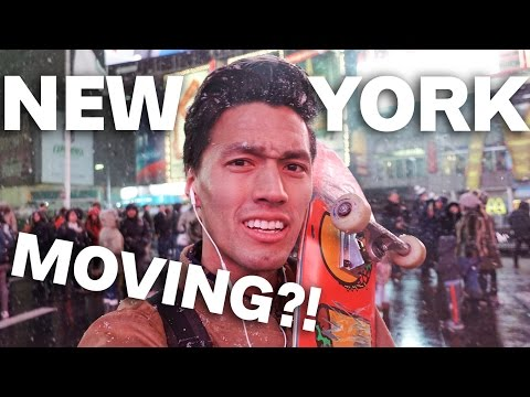 MOVING TO NEW YORK CITY?!