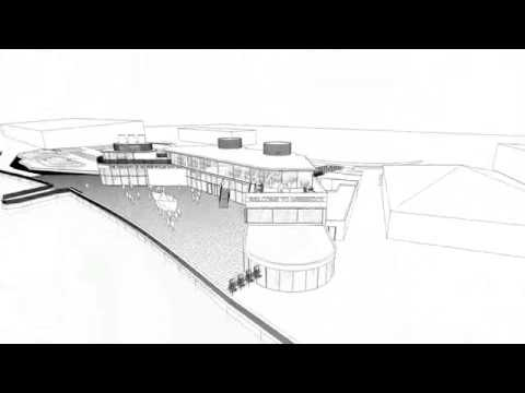 Visitor centre at Greenock Ocean Terminal