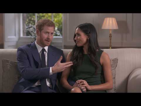 Prince Harry and Meghan Markle's engagement: watch interview in full