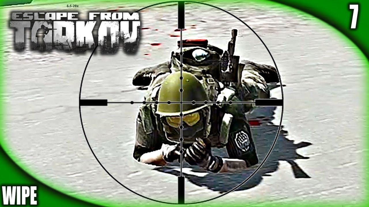 EFT Wipe #7 | FUEGO AMIGO | ESCAPE FROM TARKOV Gameplay Español