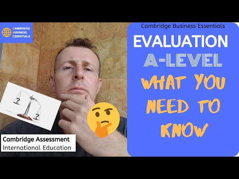 How to Evaluate in AS Business Paper 1 and Paper 2 CAIE (Cambridge Int.)  Past Paper Solutions