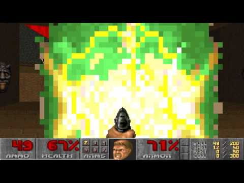 Doom II Hell on Earth Map23 Pacifist in 51s by Adam Williamson