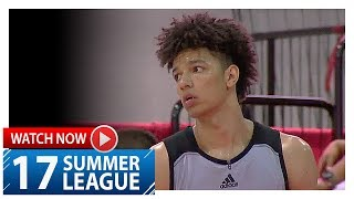 D.J. Wilson Full Highlights vs Clippers (2017.07.10) Summer League - 17 Pts, 8 Reb