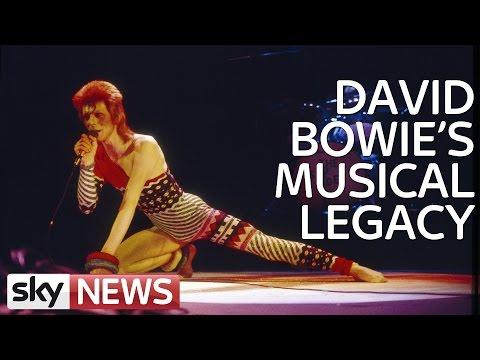 David Bowie's Music Career Through The Decades