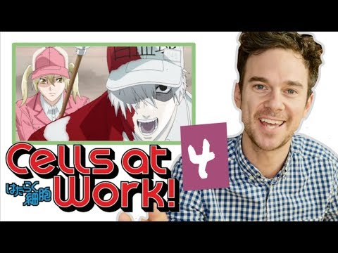 "Real DOCTOR reacts to CELLS AT WORK! // Episode 4 // ""Food poisoning"""
