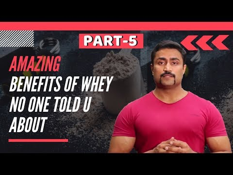AMAZING BENEFITS OF WHEY NO ONE TOLD U ABOUT