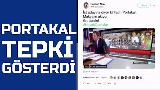 Fatih Portakal& 39 dan Ekrem İmamoğlu& 39 na tepki