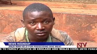 Jinja man held for possessing dog meat