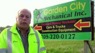 Garden City Mechanical - Construction Equipment, Car, Truck Repair and Service, Innisfil, Ontario.