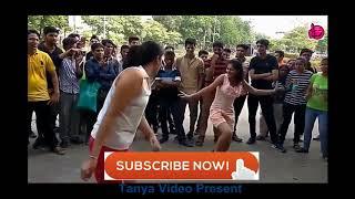 super रोड डांस ||गाव की गोरी और जंगल के छेले का सड़क पर जबरदस्त मुकाबला || sapna tanya delhi
