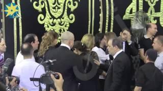 شاهد بالفيديو : نادية الجندى ونبيلة عبيد ولبلبة ونيللى فى عزاء الراحل نور الشريف