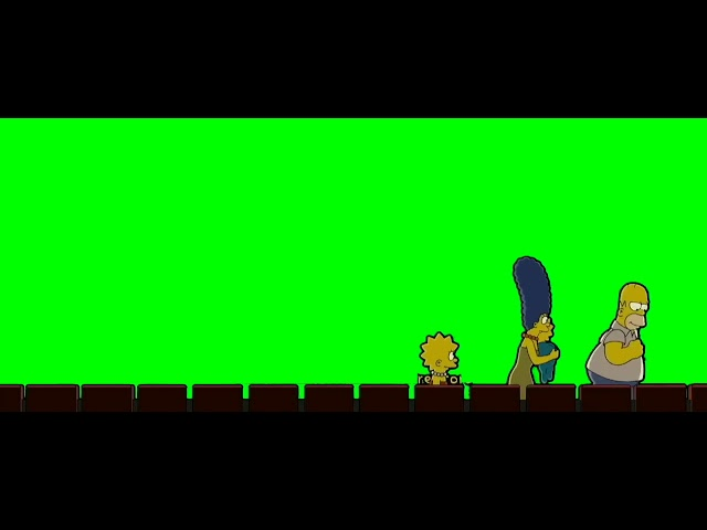 The Simpsons Theater Get Green Screen End Credits Youtube