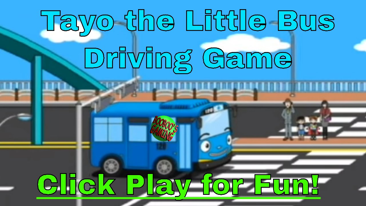 Tayo The Little Bus Driving Game Level 2 Android Game Free Educational Games For Kids Youtube