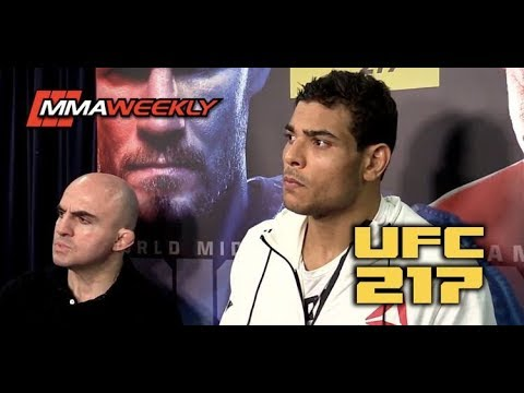 UFC 217 Backstage: Paulo Costa Reacts to Steroid Accuser