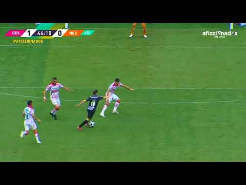 Gol de Isaác Brizuela   Chivas 1 - 0 Necaxa   LIGA BBVA MX Grita México A21 - Jornada 7  