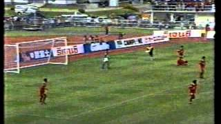 1995年5月26日。U-22タイ代表vsU-22日本代表 チェンマイ アトランタ五輪...