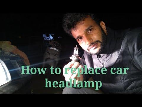 How to replace car headlamp |Maruti Suzuki alto