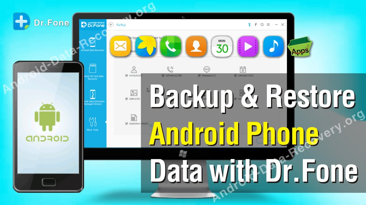 dr fone android backup