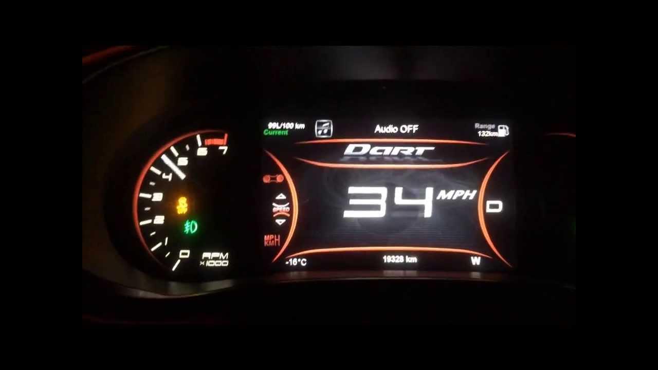 2017 Dodge Dart 0 60 1 4 Ddct
