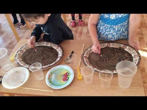 Видео занятия на тему Чудо песок