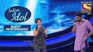 Sunidhi और Abhishek Bachchan की Impressive Tuning   Indian Idol   Guests Performance