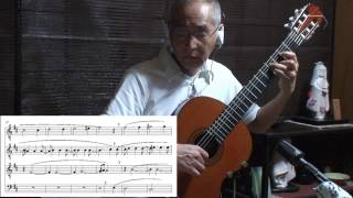Fernando Sor op.35 No.22 Analyzed 月光 青木一男