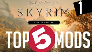 Skyrim Special Edition TOP 5 PS4 MODS #1