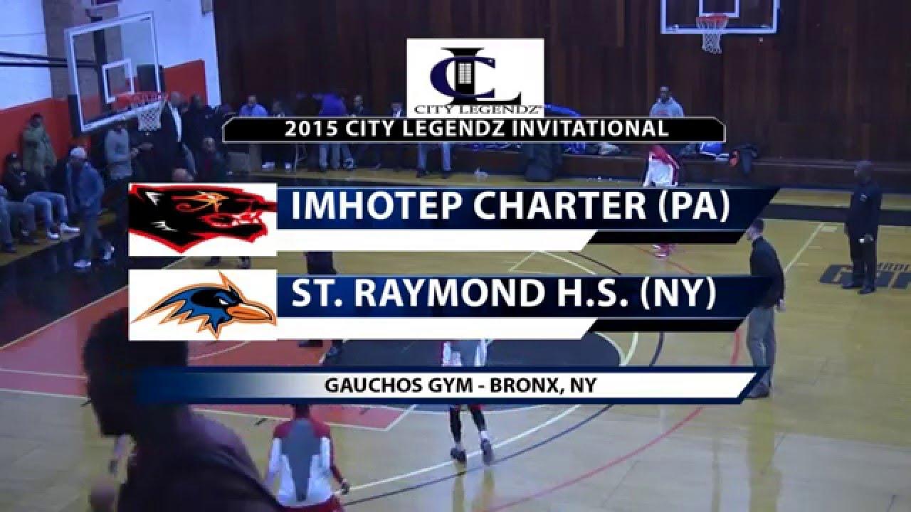 City Legendz Invitational: Imhotep Charter vs St. Raymond ...