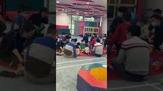 중국상해 어린이 주말 유치원 수업모습 #아기 유치원 #…