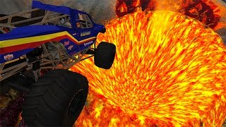 Jumping In Volcano #2 BeamNG.drive