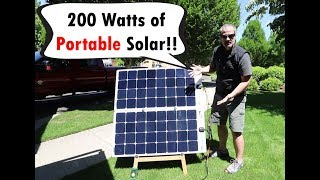 The Ultimate Portable Solar Solution!