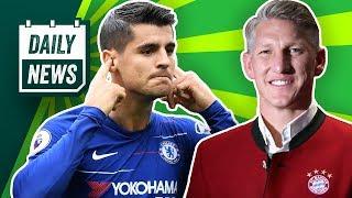 FC Bayern: Rudy offiziell zu Schalke! Schweinsteigers Abschiedsspiel! 2 Milliarden für Chelsea!