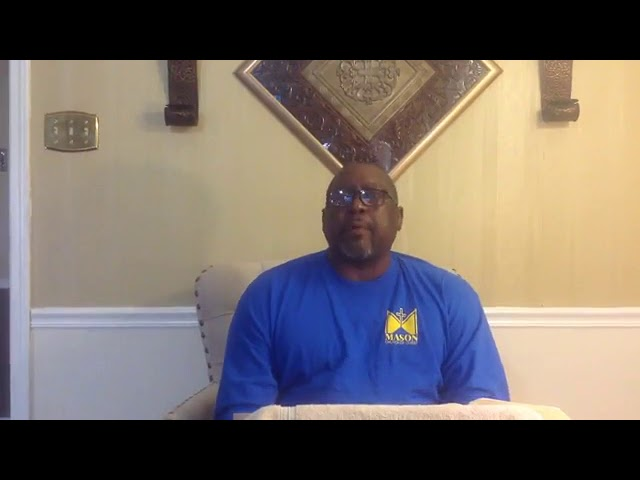 Sunday's Sermon November 29, 2020 by Bro John Somerville