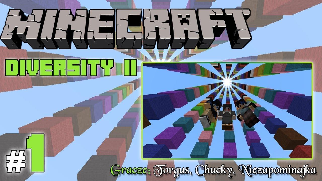 """Minecraft Escape: Diversity II z Torgus/Chucky! [1/x] – """"Potworny labirynt"""""""