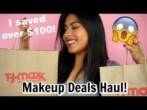 TJMAXX Makeup Deals Haul 2018 | I Saved Over $100!