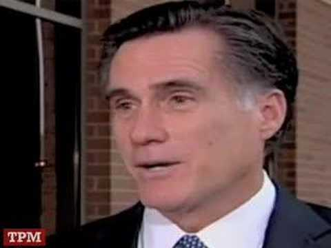 Romney: Push Poll Charges Are like 9/11 Conspiracy Theories