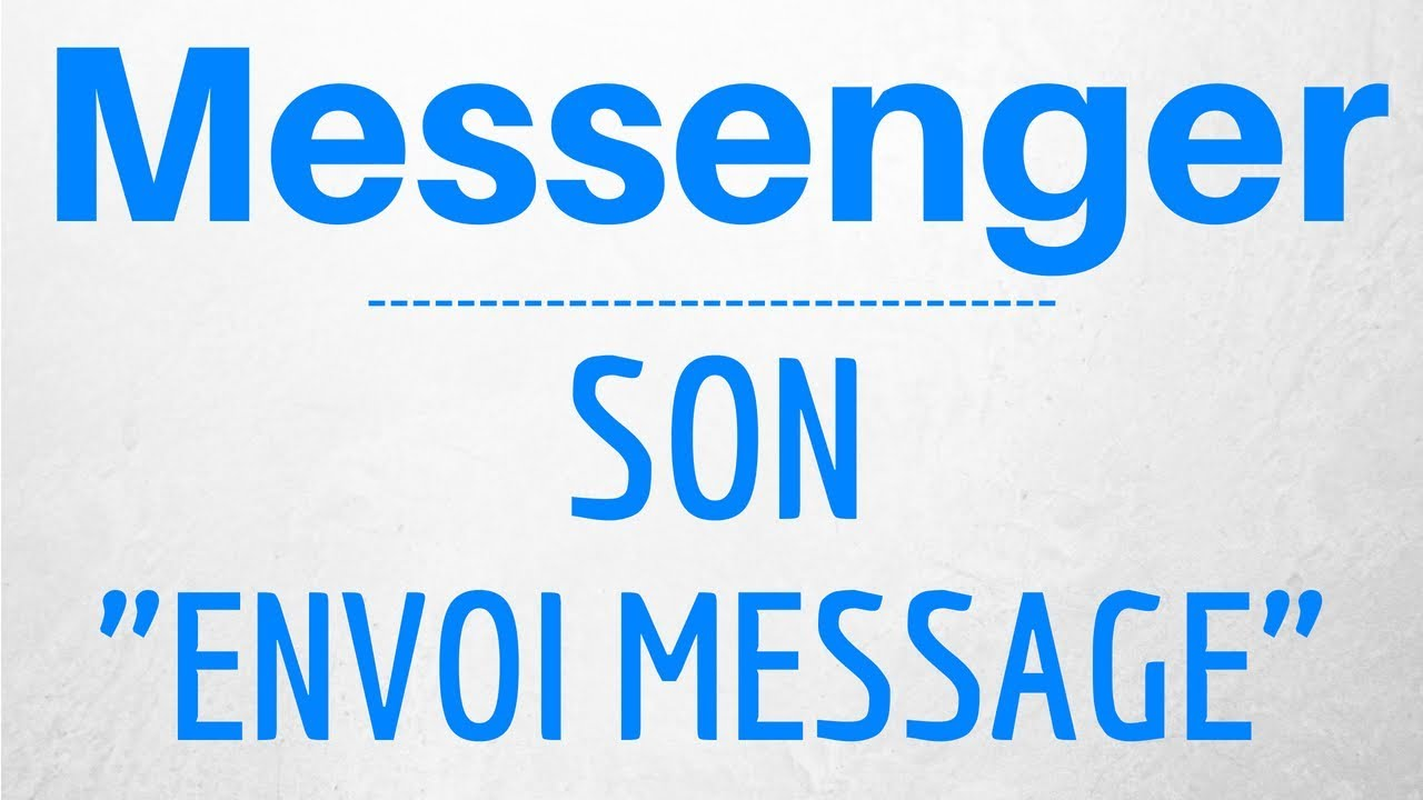 new authentic quality online retailer Son d'ENVOI d'un MESSAGE Messenger - Facebook Messenger Sound Effect