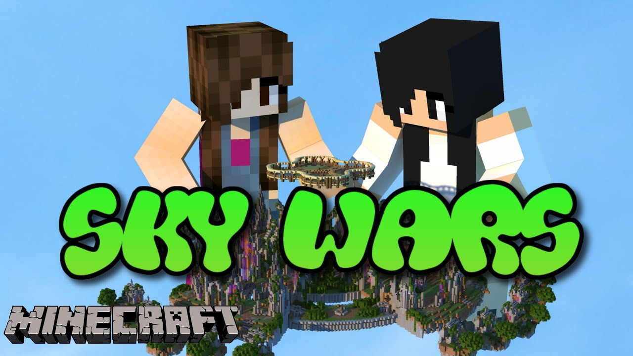 Minecraft - Sky Wars com mamis - YouTube