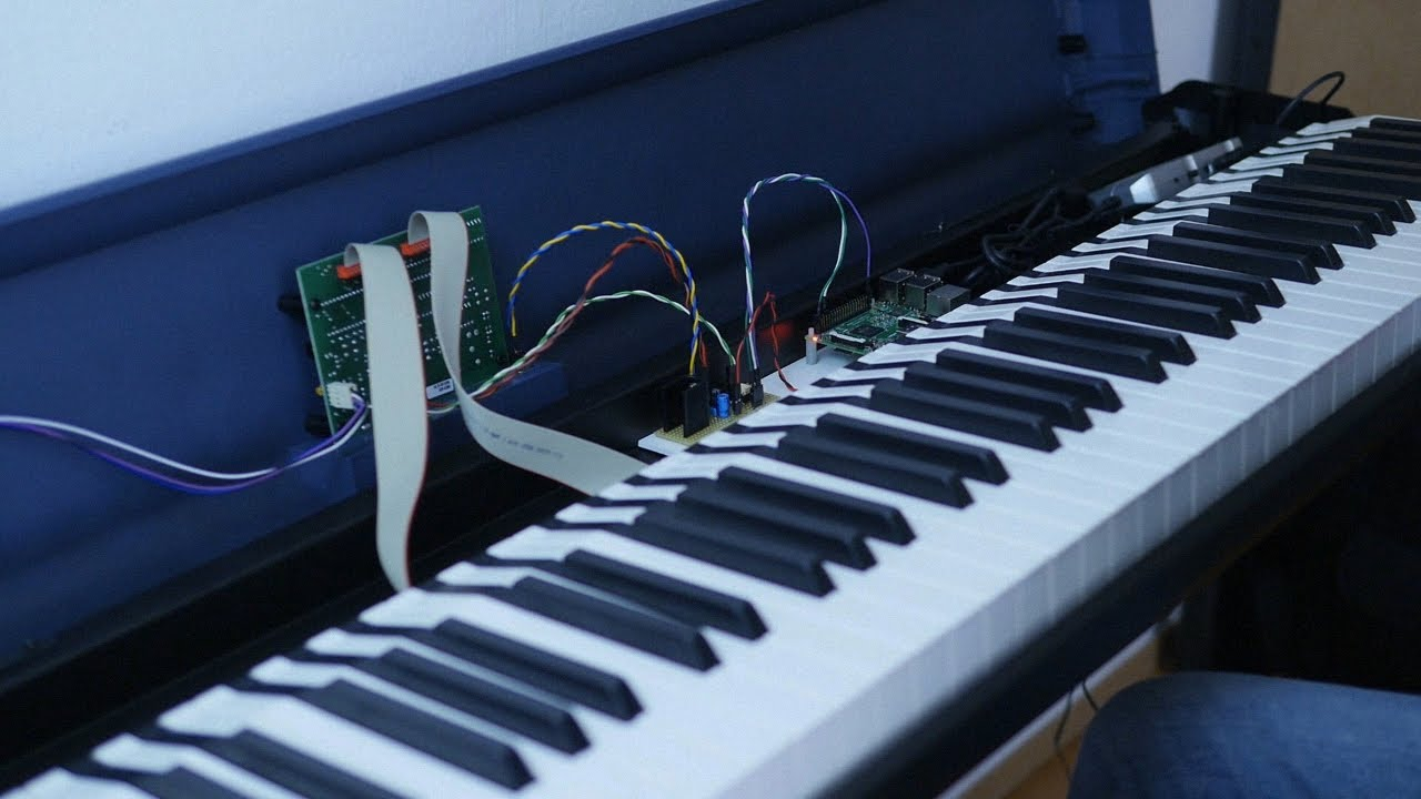 SamplerBox - Studiologic SL990 (Raspberry Pi Piano Standalone)