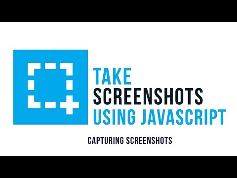 Take Screenshots Using Javascript : Capturing