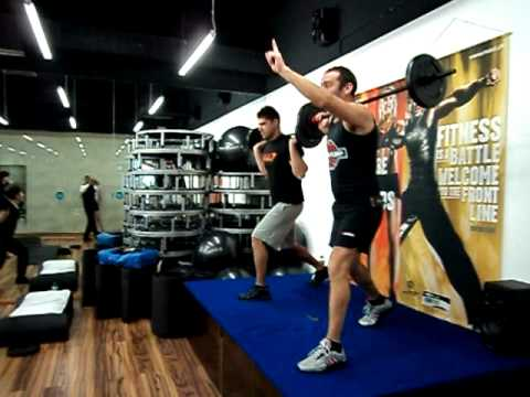 Covilhã Wellness Health Club Open Day 19/02/11 (Body Pump)