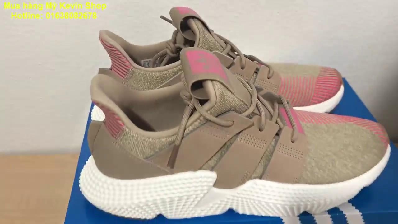 another chance 7aea2 8c9a6 Cách check hộp giày Adidas Prophere chính hãng của Mỹ