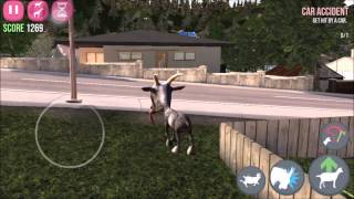 goat simulator: all goatville trophies ios/ android part 1/2