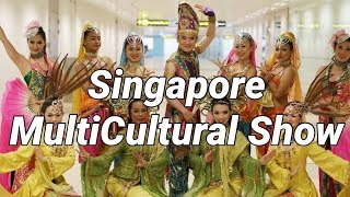 ★Singapore Cultural Dance SG50 Show for Changi Millionaire Grand Draw 2015★