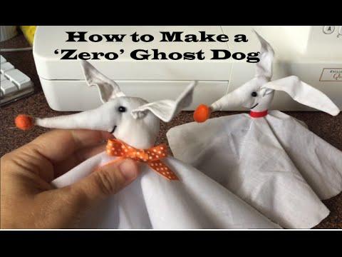Halloween Craft Tutorial - How to Make Zero from The Nightmare ...