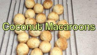 Coconut Macaroons Video Recipe Cheekyricho