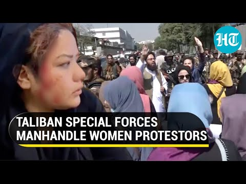 Taliban violently stop women protesters from marching to Presidential Palace in Kabul: Reports