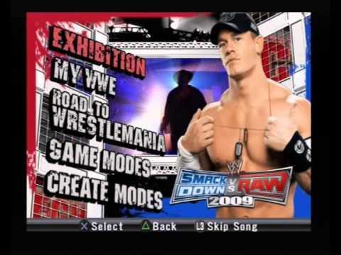 WWE Smackdown vs Raw 2009 Soundtrack